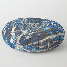 Cobalt Floor Pillow