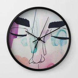 Shut Eye Wall Clock