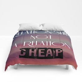 RELATIONSHIP Comforters