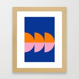 Spring- Pantone Warm color 02 Framed Art Print