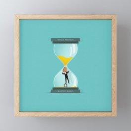 The Time Keeper Framed Mini Art Print