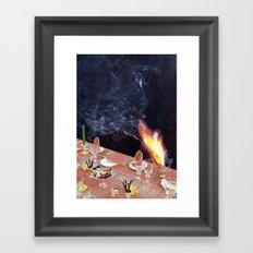 dining Framed Art Print