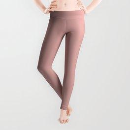 Rose Blush D9A6A1 Leggings