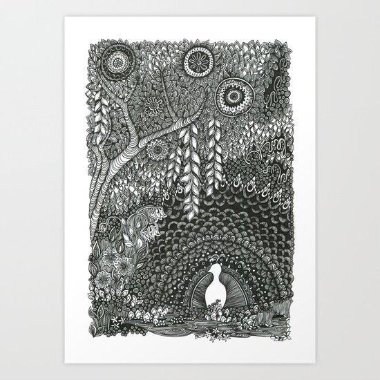 In the Dark Art Print