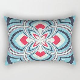 Spiral Rose Pattern B 3/4 Rectangular Pillow