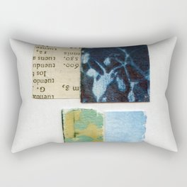 Scraps Of Art Rectangular Pillow