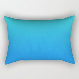 Tortuga - deep blue sea ombre painting abstract decor Rectangular Pillow