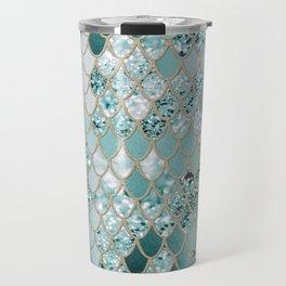 Mermaid Glitter Scales #3 #shiny #decor #art #society6 Travel Mug