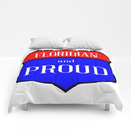 Floridian And Proud Comforters
