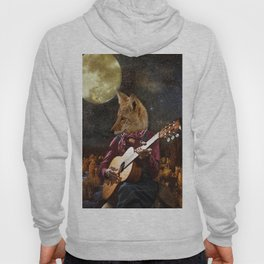 Tom Coyote and the Full Moon Hoody