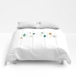1950s Mid Century Design Comforters