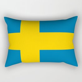 Flag: Sweden Rectangular Pillow