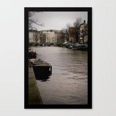 + Prinsengracht, Amsterdam Canvas Print