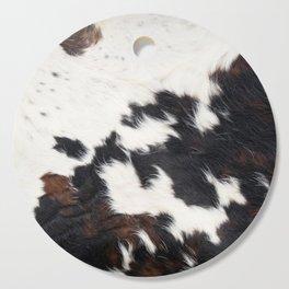 Brown Cowhide Cutting Board