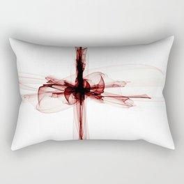 Blood Cross Rectangular Pillow