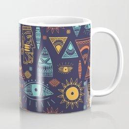 Maya Tribal Ethnic Pattern Coffee Mug