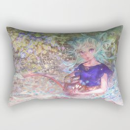 Heart Level Up: Color Your World Rectangular Pillow