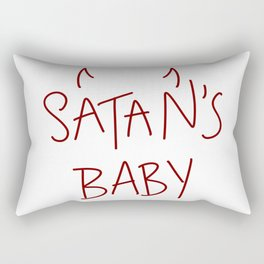 satan's baby Rectangular Pillow