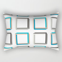 Impossible shapes alternating pattern. Rectangular Pillow