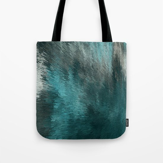 Cubes and lights Tote Bag