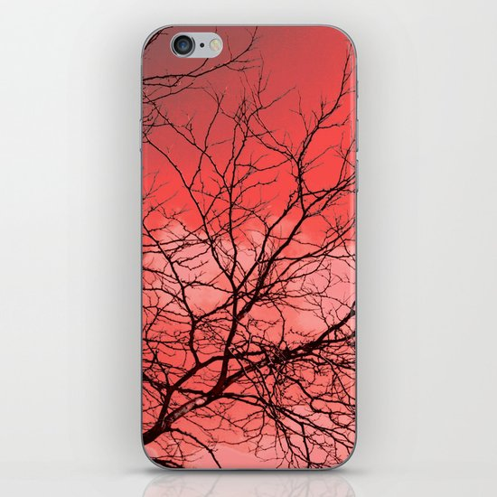 Branches in the Red Sky iPhone & iPod Skin