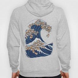 The Great Wave of Shiba Inu Hoody