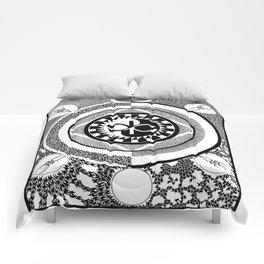 Infinity of Two Comforters