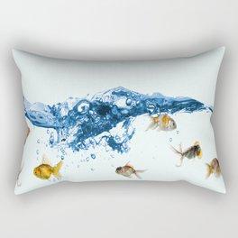 Keep swiming Rectangular Pillow