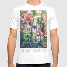 Junglism 3 Mens Fitted Tee White MEDIUM