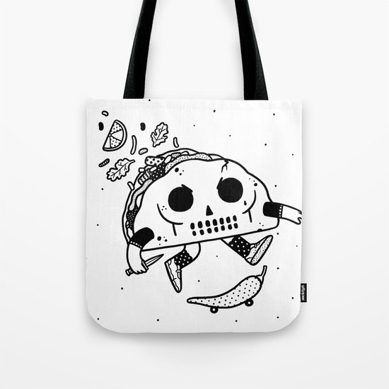 Al Pastor chili-flip Tote Bag