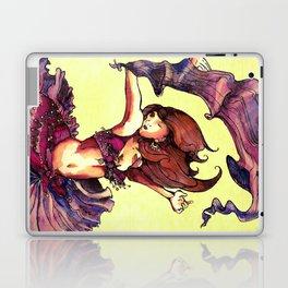 Magenta Dancer Laptop & iPad Skin