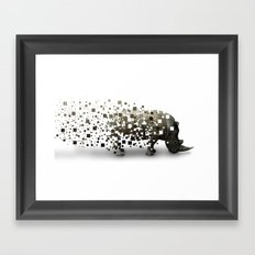Disappearing Framed Art Print