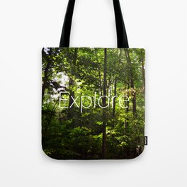 Forest // Silent In The Trees // Explore Tote Bag