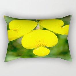 Soft Birdsfoot Trefoil Rectangular Pillow
