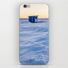 The fishing cabin iPhone Skin