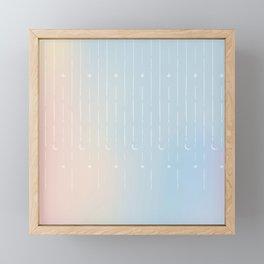 Stars & Moons Framed Mini Art Print