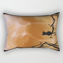 Fluffy waterfall Rectangular Pillow