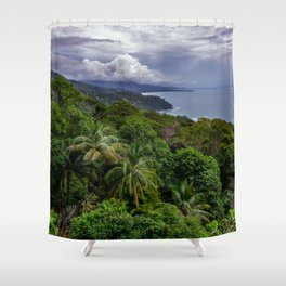 Villas Alturas Costa Rica View Shower Curtain