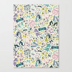 Heels and Handbags (sweet) Canvas Print