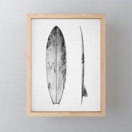 Surfboard Framed Mini Art Print