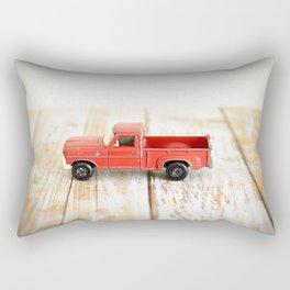 Red Truck Rectangular Pillow