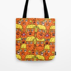 Trump Nightmare Pattern Tote Bag