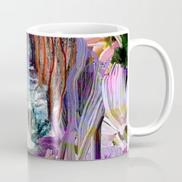 Fairy and Unicorn, Fantasy Forest Coffee Mug