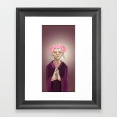 I am Queen Framed Art Print