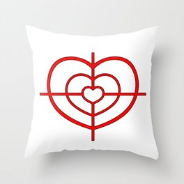 Heartscope Throw Pillow