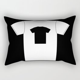 Black T-Shirt With a Picture of My White T-Shirt With a Picture of My Black T-Shirt Rectangular Pillow