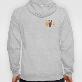 Peace Hands 3 Hoody
