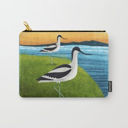 Two Avocets In Suffolk Carry-All Pouch