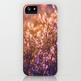 golden heather iPhone Case