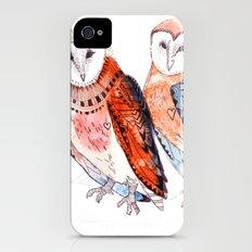 LOVE owls iPhone (4, 4s) Slim Case